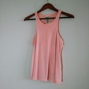 Free People Woman Pink Tank Tap Small